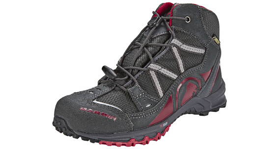 Mammut Nova Mid GTX Shoes Kids graphite-crimson